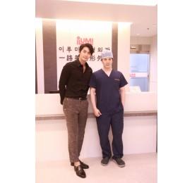 영화배우 이재혁 님께서 이루미성형외과에 방문하셨습니다.